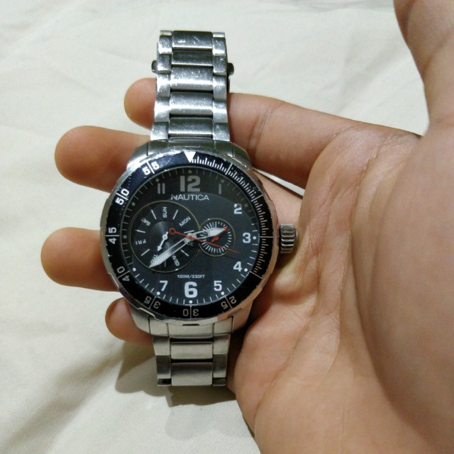 Nautica Stainless Steel Watch
