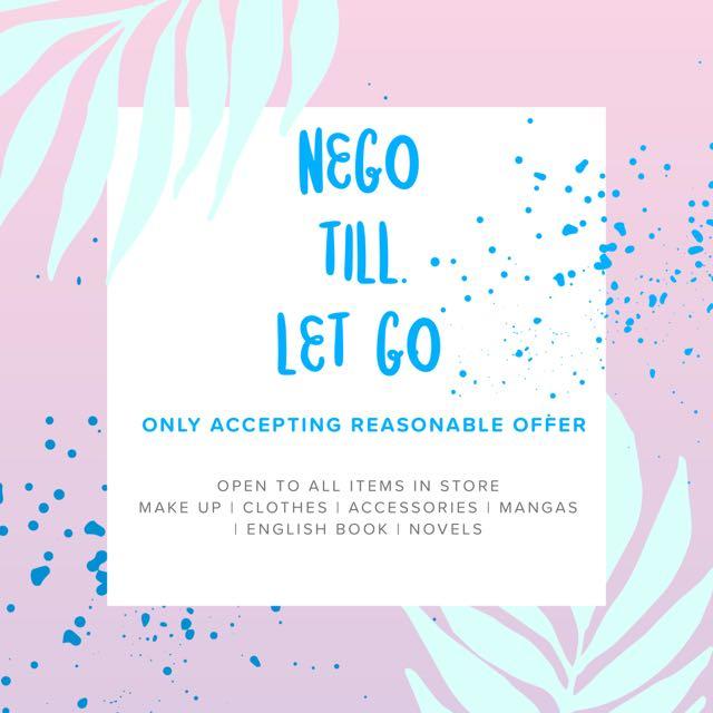 NEGO TILL LET GO