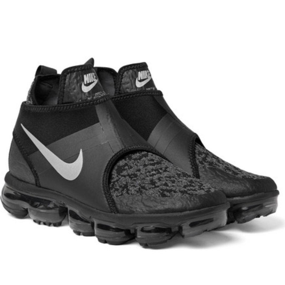 brand new 5e022 dfd6d NIKE Air VaporMax Chukka Slip Mesh And Neoprene Sneakers, Men s ...