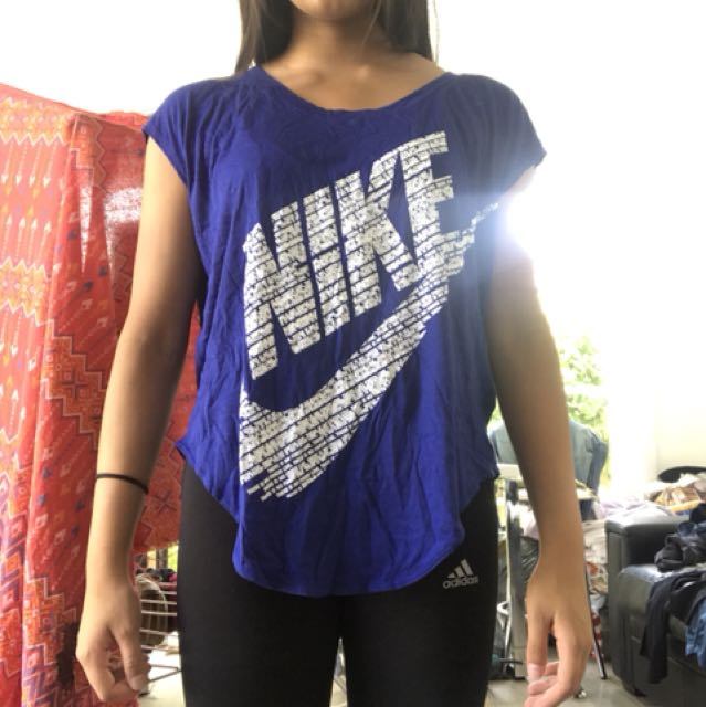 Nike Blue top small