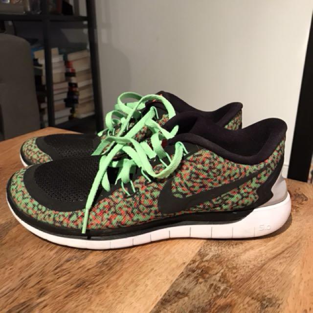 Nike Free Running Shoes - W8.5