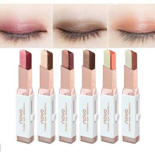 NOVO Dual Color Metallic Eye Shadow