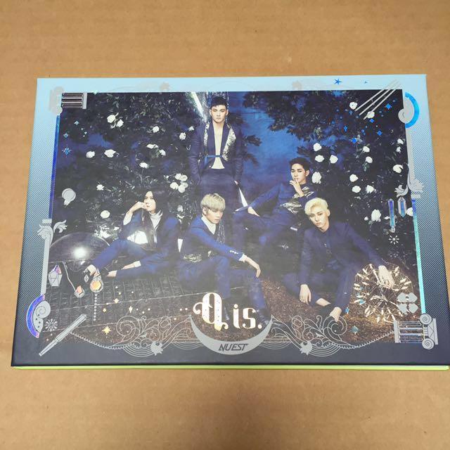 NU'EST 4th mini album Q is w/ group pc