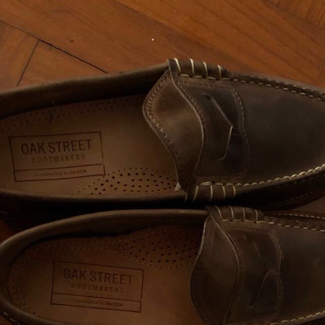 014704d8467 Oak Street Bootmakers  Brown Penny Loafers