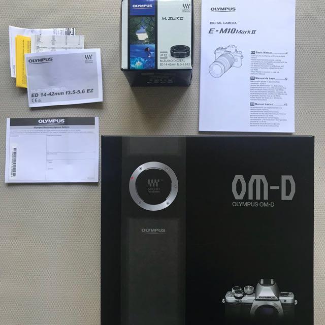 Olympus OM-D EM 10 Mark 2