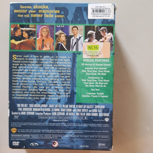 One Tree Hill Dvd - Complete 2 and 3 season, Music & Media