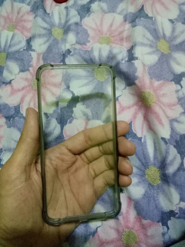 oppo f3 clear black case