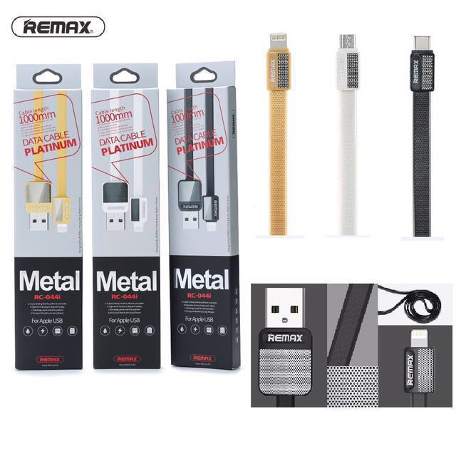 Original Remax Fast charging Cable Iphone/android