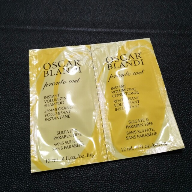 Oscar Blandi Pronto Wet Trial Kit Shampoo Conditioner Sephora