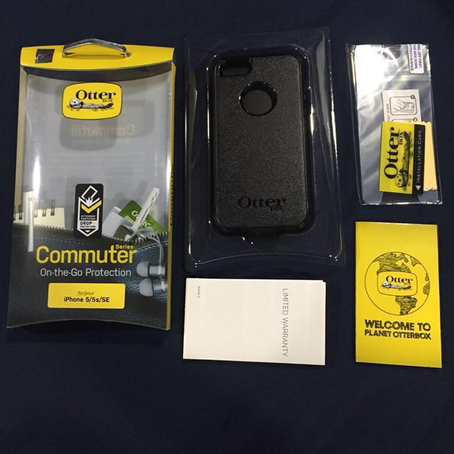 Otter Box Case for iPhone (5/5s/SE) - brand new, never used, bought in US for $49.