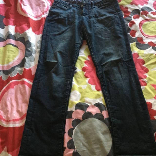 Paige skinny leg (skyline skinny)jeans size 28