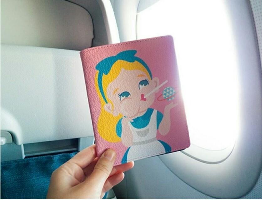 Cinderella  Passport holder/wallet