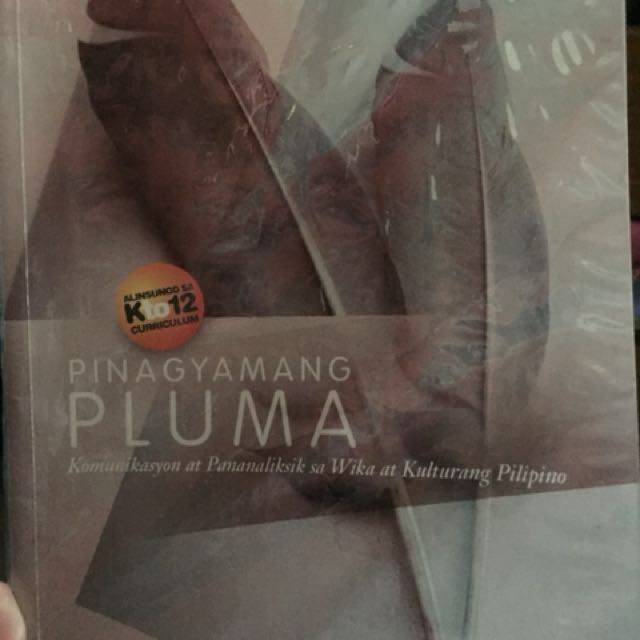 Pinagyamanang pluma