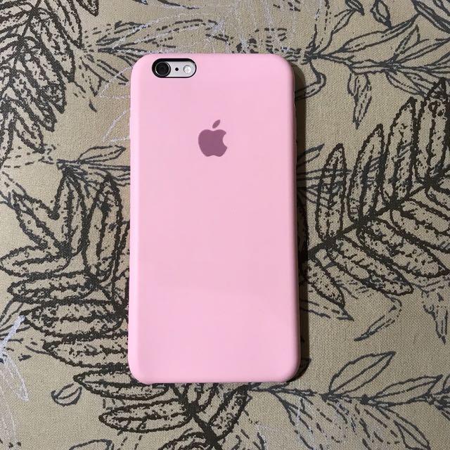 Pink Apple iPhone 6 PLUS Case