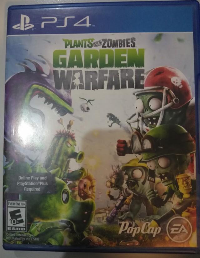 Plants vs Zombie ps4