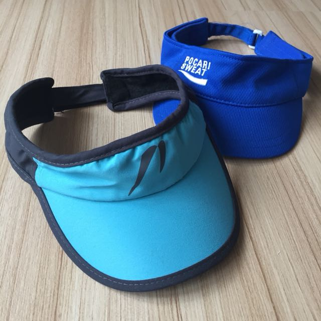 Pre-loved Original Newton Visor free Pocari Sweat Visor