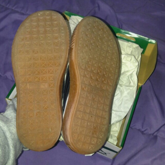 Puma Suede Creepers - size 6