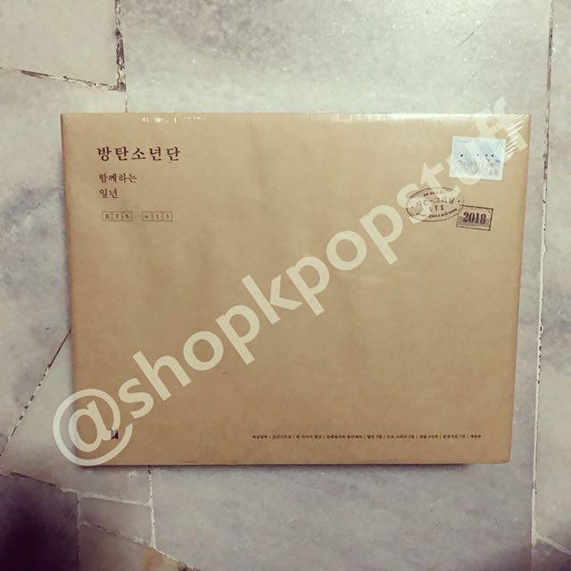 [READY STOCK] BTS 2018 Seasons Greetings Sealed (With DVD) + Free Gifts