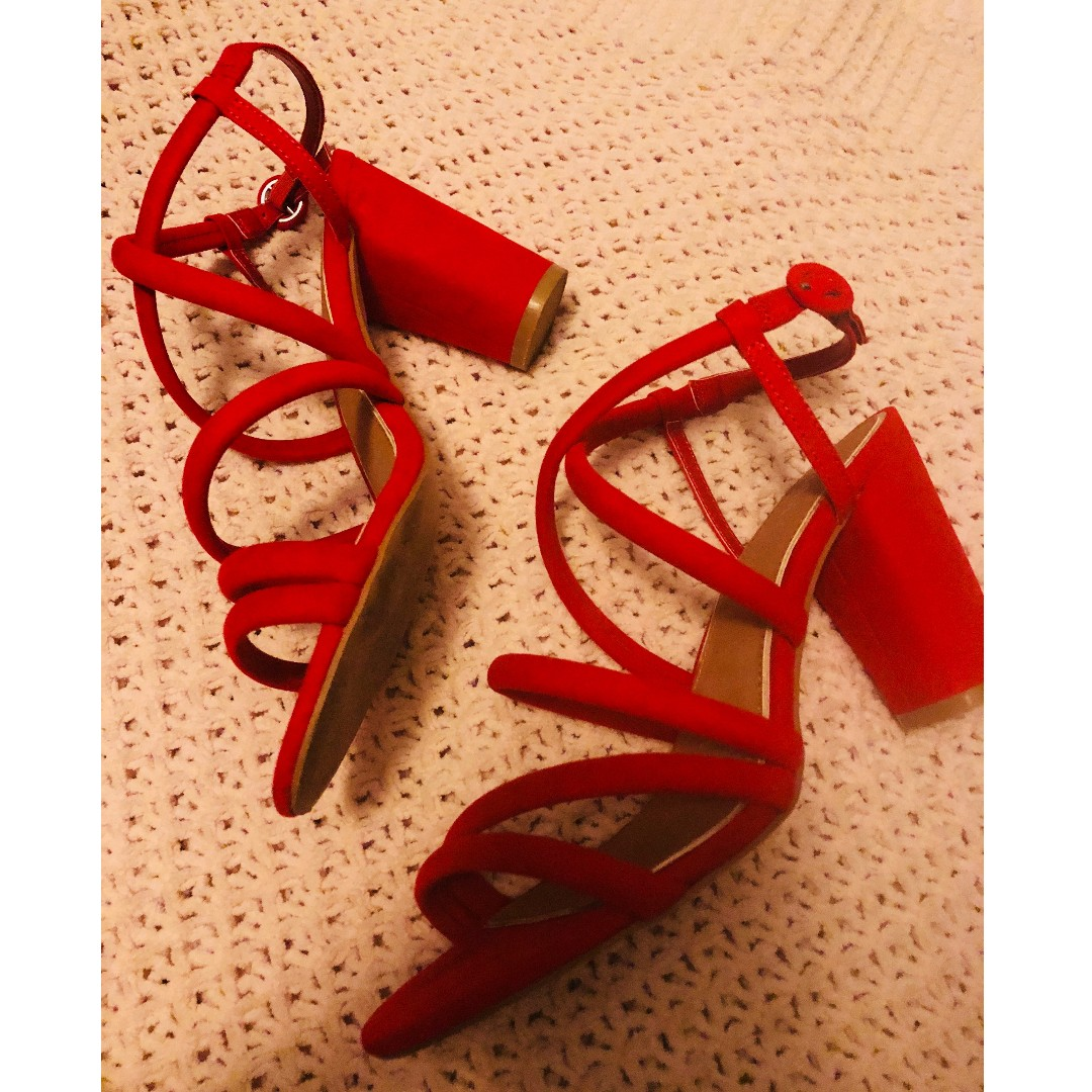 Red hot rubi shoes heels size 39 BRAND NEW