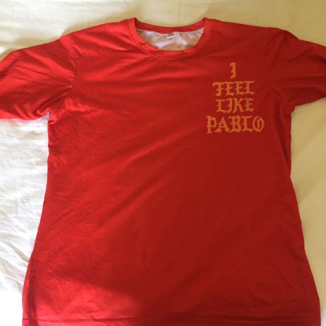 Red Pablo long sleeve shirt