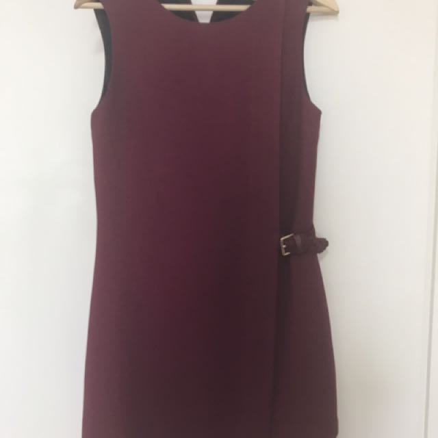 64a480545 Red Ted baker Work dress