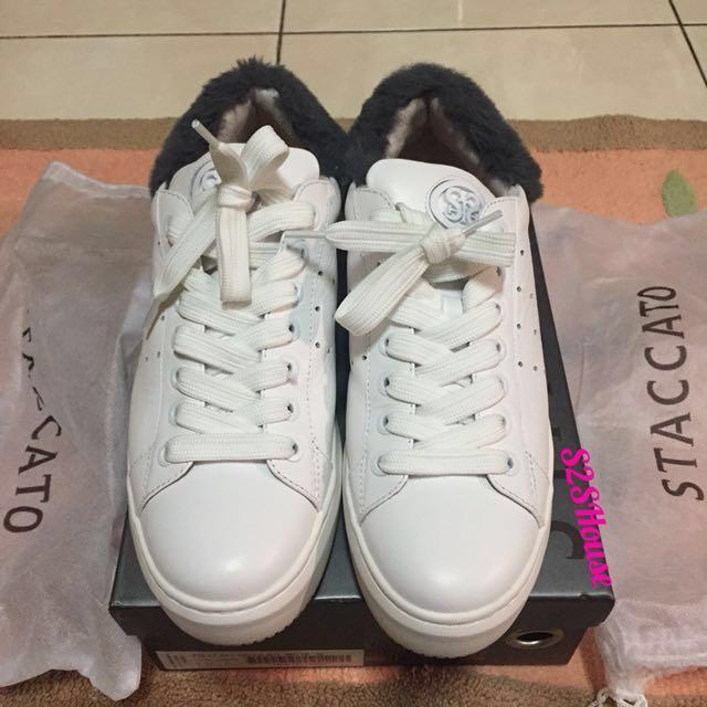Reprice Jual sneakers shoes Staccato, baru beli tgl 7 des