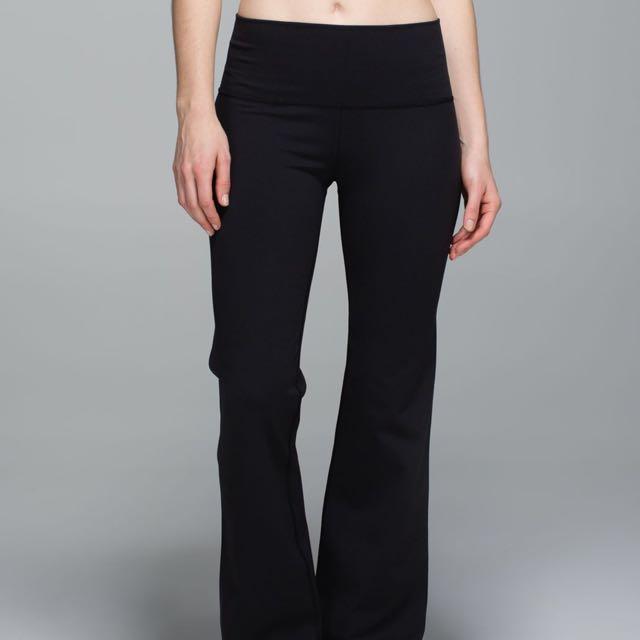 Reversible Lululemon Groove Pants