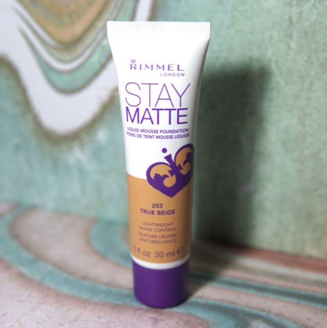 Rimmel Stay Matte Liquid Mousse
