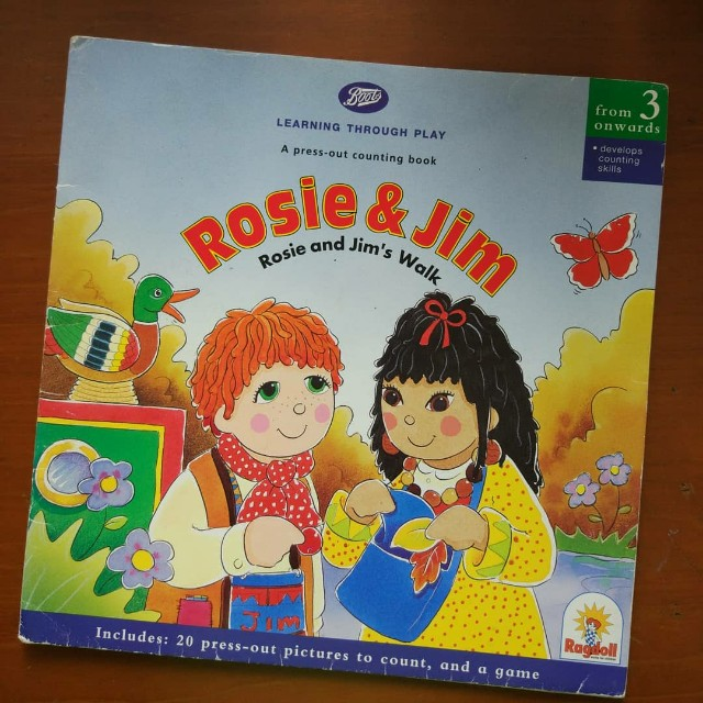 Rosie and jim activity story books