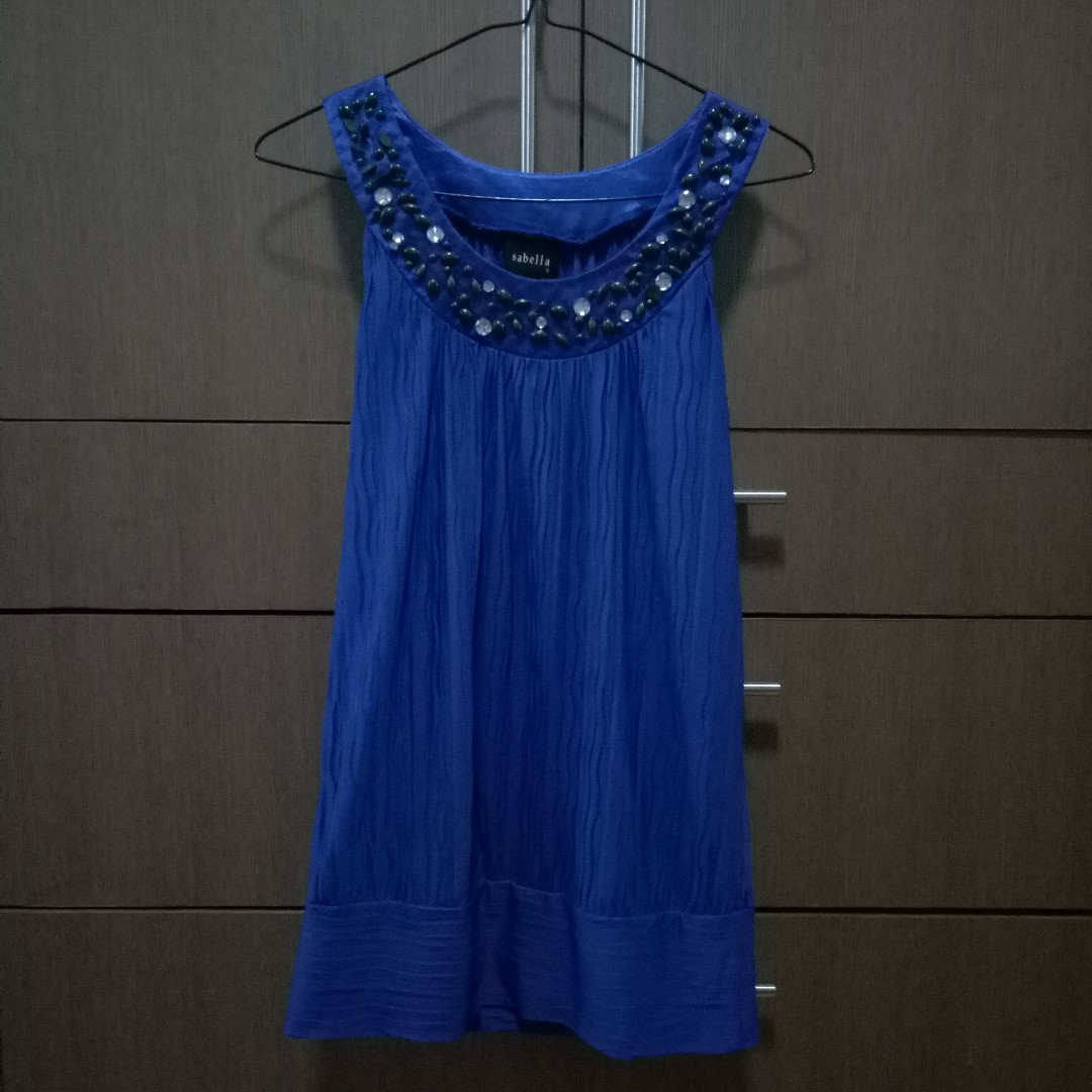 Sabella Blue Top