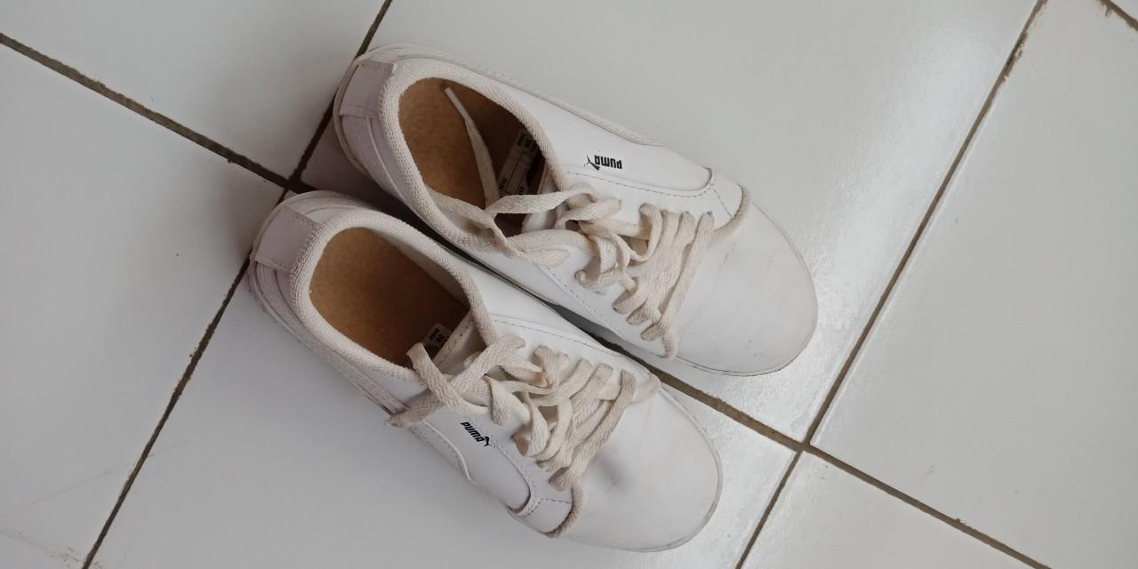 Sepatu Puma Putih Fesyen Wanita Di Carousell