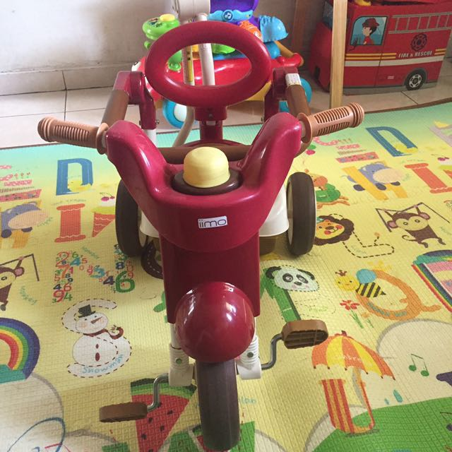 Sepeda IIMO 2 Red Tricycle