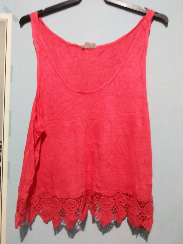 Shirt top motif