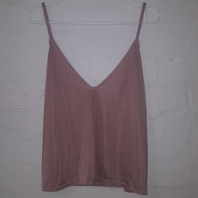 Size 14 Pink Champagne Cami Top
