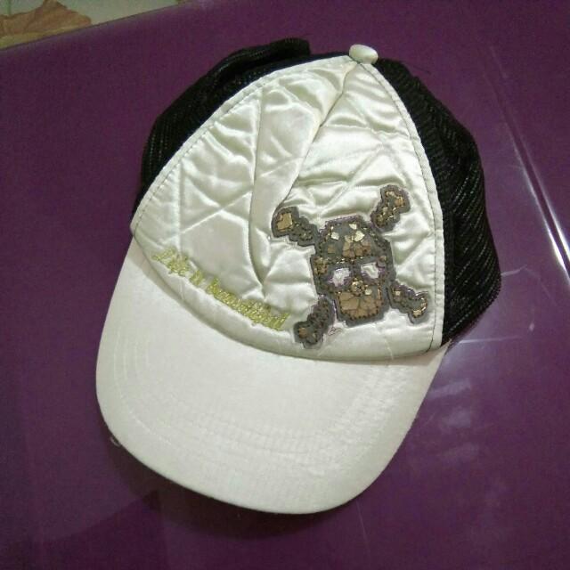 Skull-designed Cap
