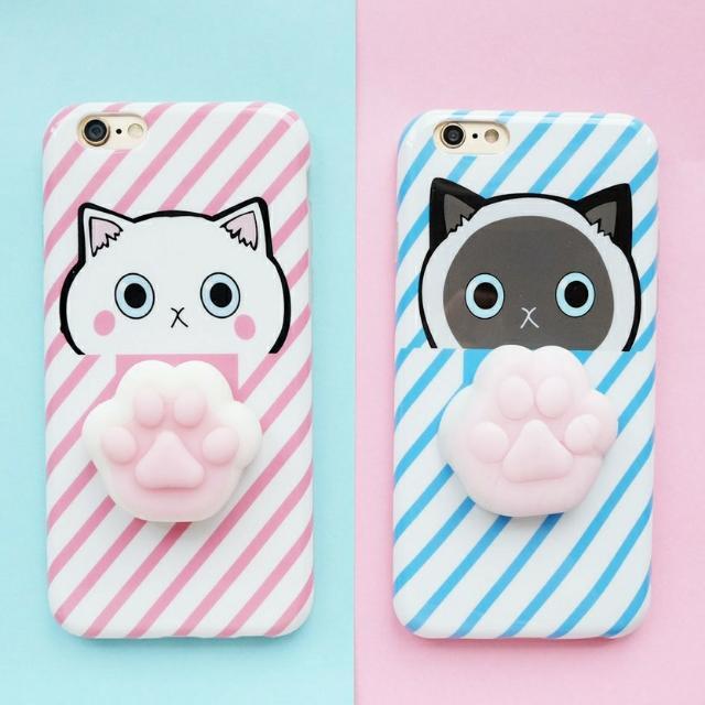 Softcase Iphone Fullprint Squishy Case