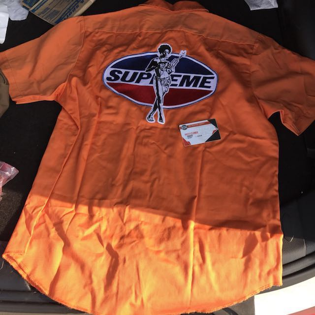 Supreme / HYSTERIC GLAMOUR S/S Work Shirt Large