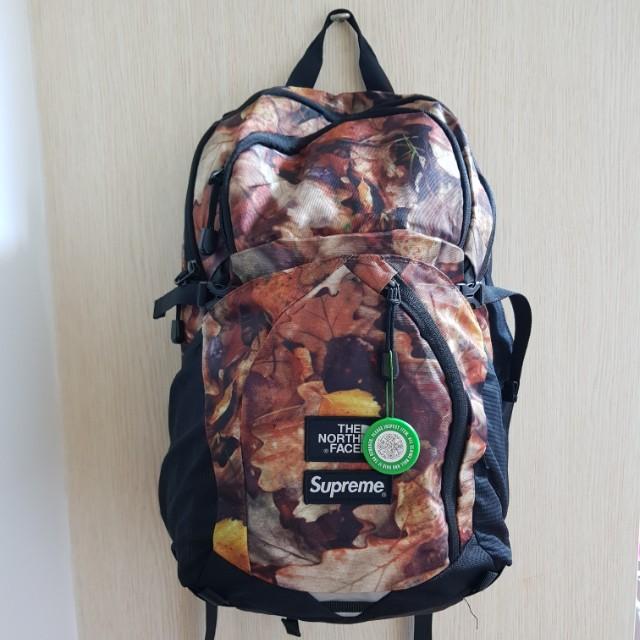 157b36824 Supreme x the northe face pocono backpack leaves, Men's Fashion ...