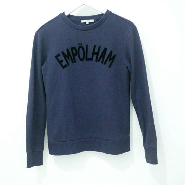 Sweater Navy Merk Empolham