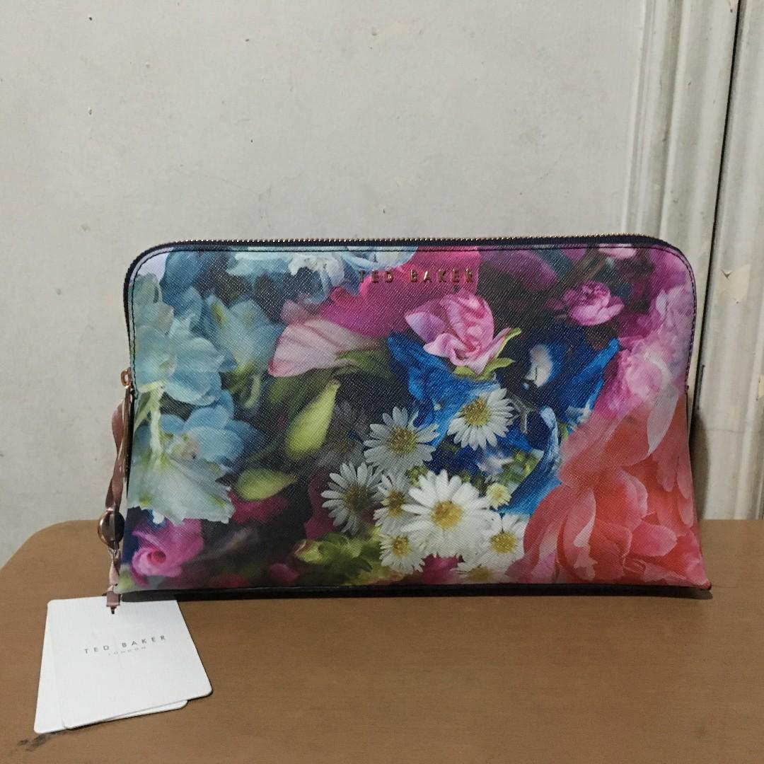 Ted Baker floral wash bag