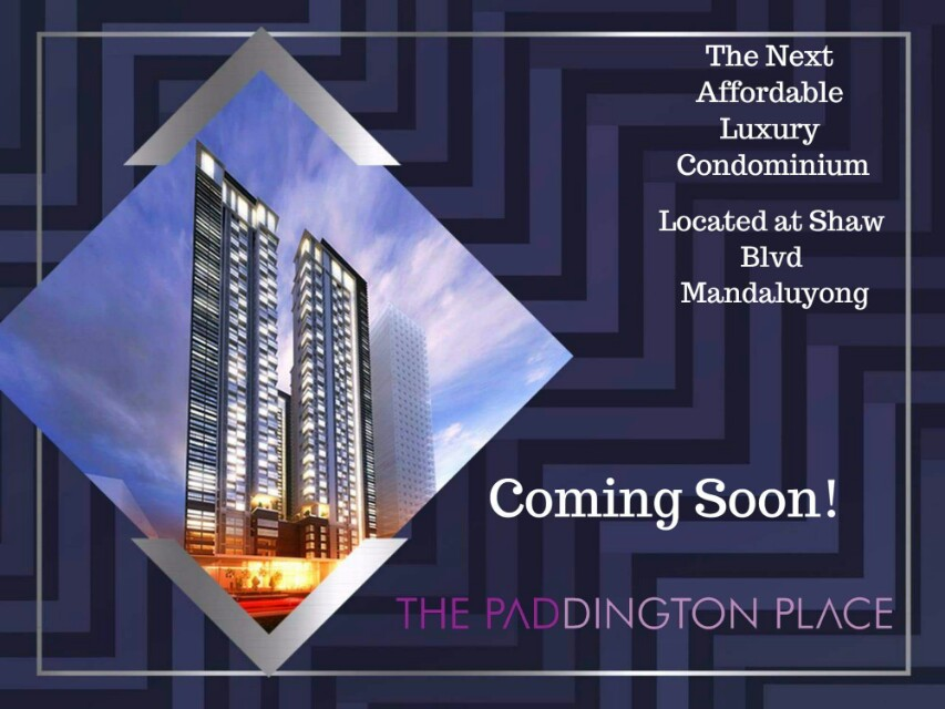 The PADDINGTON PLACE Mandaluyong