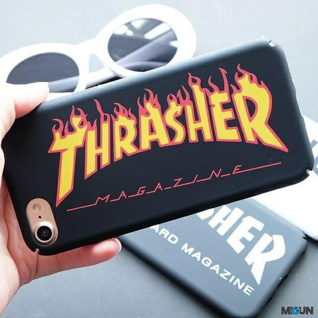 Thrasher Iphone Hard Case Doff