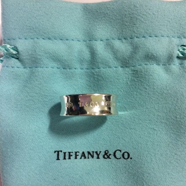 Tiffany & Co 1837 Ring in Stirling Silver
