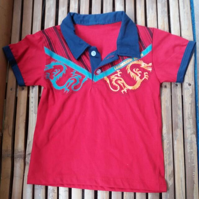 Toddler's polo shirt