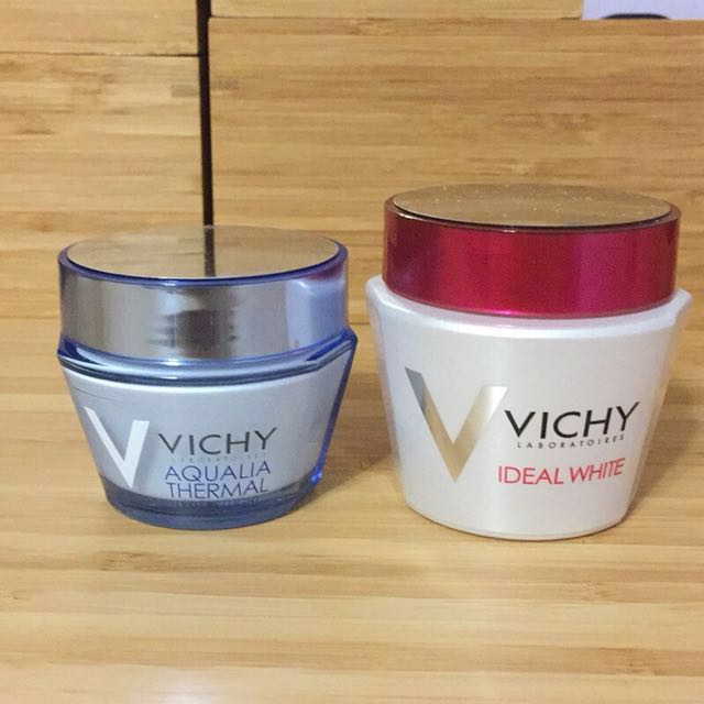 Vichy薇姿1+1智慧動能48H極限水晶凝+淨膚透白密集修護水面膜