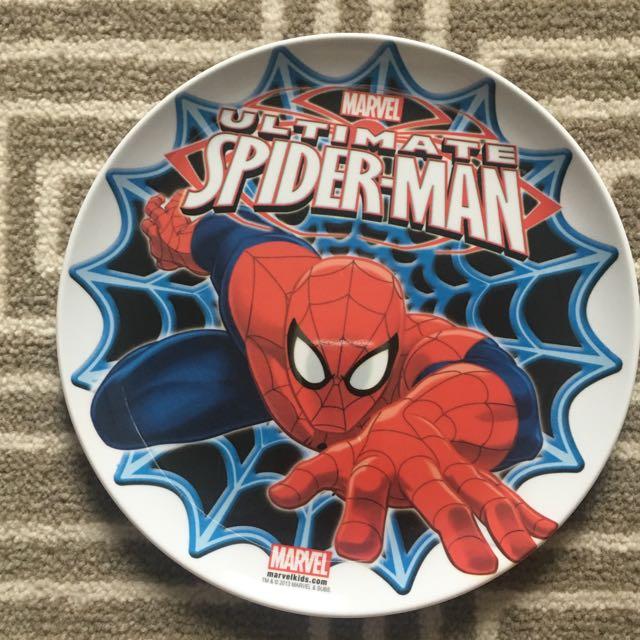 ZAK Spider-Man Melamine Plate