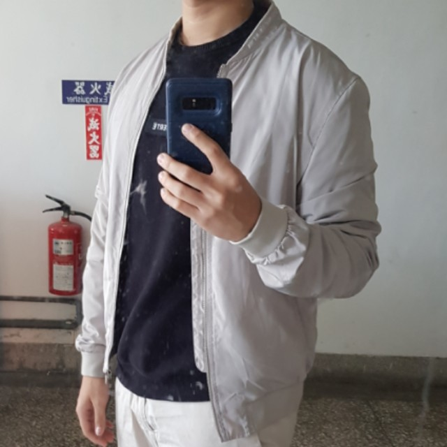 ZARA 飛行外套休閒夾克街頭時尚男生