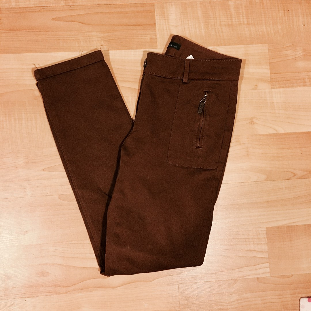 *REDUCED* Zara Basic Brown Pants