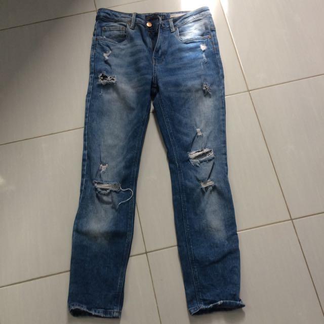 Zara Tomboy Jeans