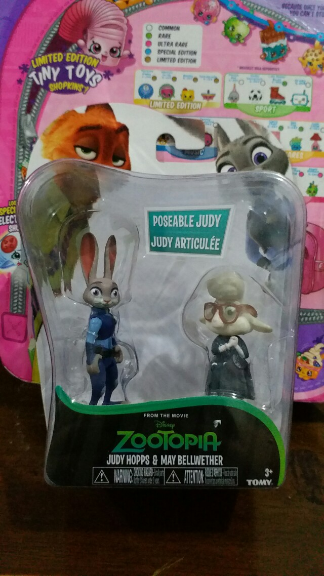 Zootopia mini figures